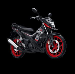 Honda Sonic 150 HRR Matte Black